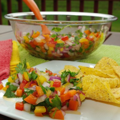 Hide Your Vegetables! Pico De Gallo