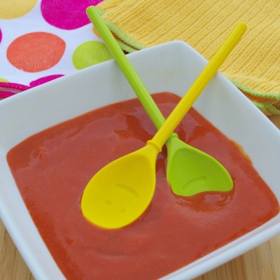Strawberry Carrot Soup – The Ugliest Photo of Soup EVER (but the Recipe Is Tasty)