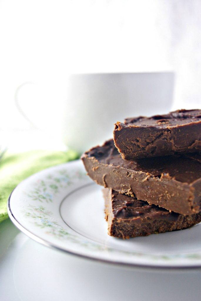 Perfect for kids and parties, Creamy Paleo Fudge is a healthy guilty pleasure! | spiritedandthensome.com