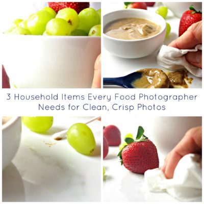 3 Household Items Every Food Photographer Needs for Clean, Crisp Photos