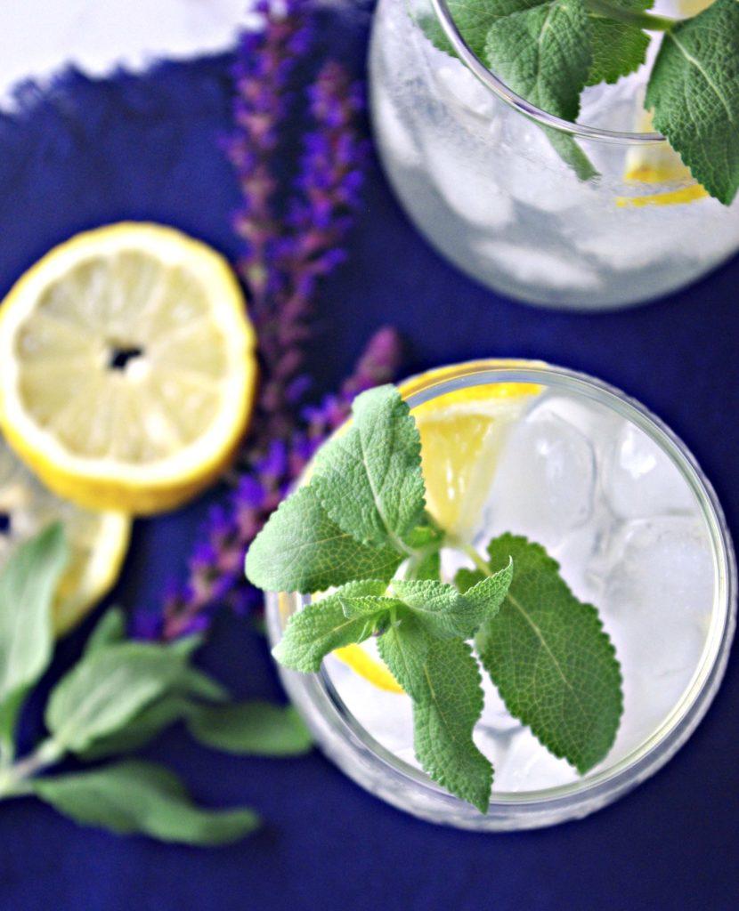 Agave-Infused Homemade Lemonade contains just 3 base ingredients! | spiritedandthensome.com
