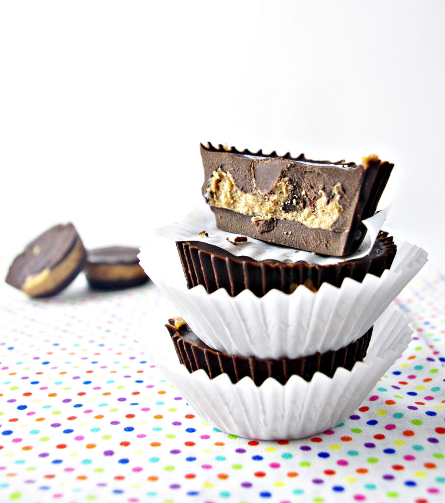 Chocolate Almond Butter Cups Eye Level