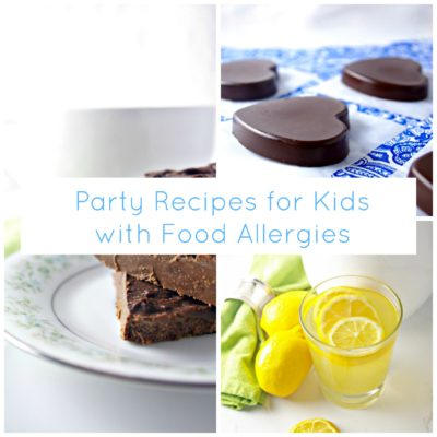 Party Recipes for Kids with Food Allergies