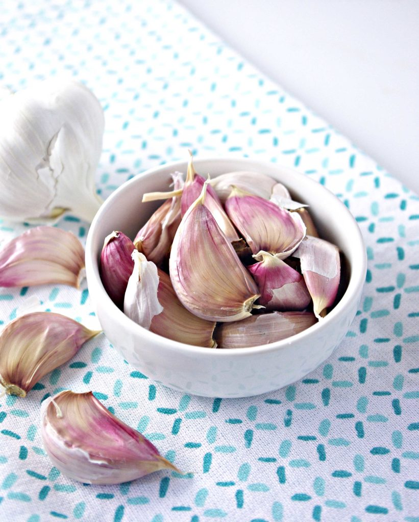 Fresh Garlic for Creamy Roasted Garlic and Onion Soup makes all the difference! | spiritedandthensome.com