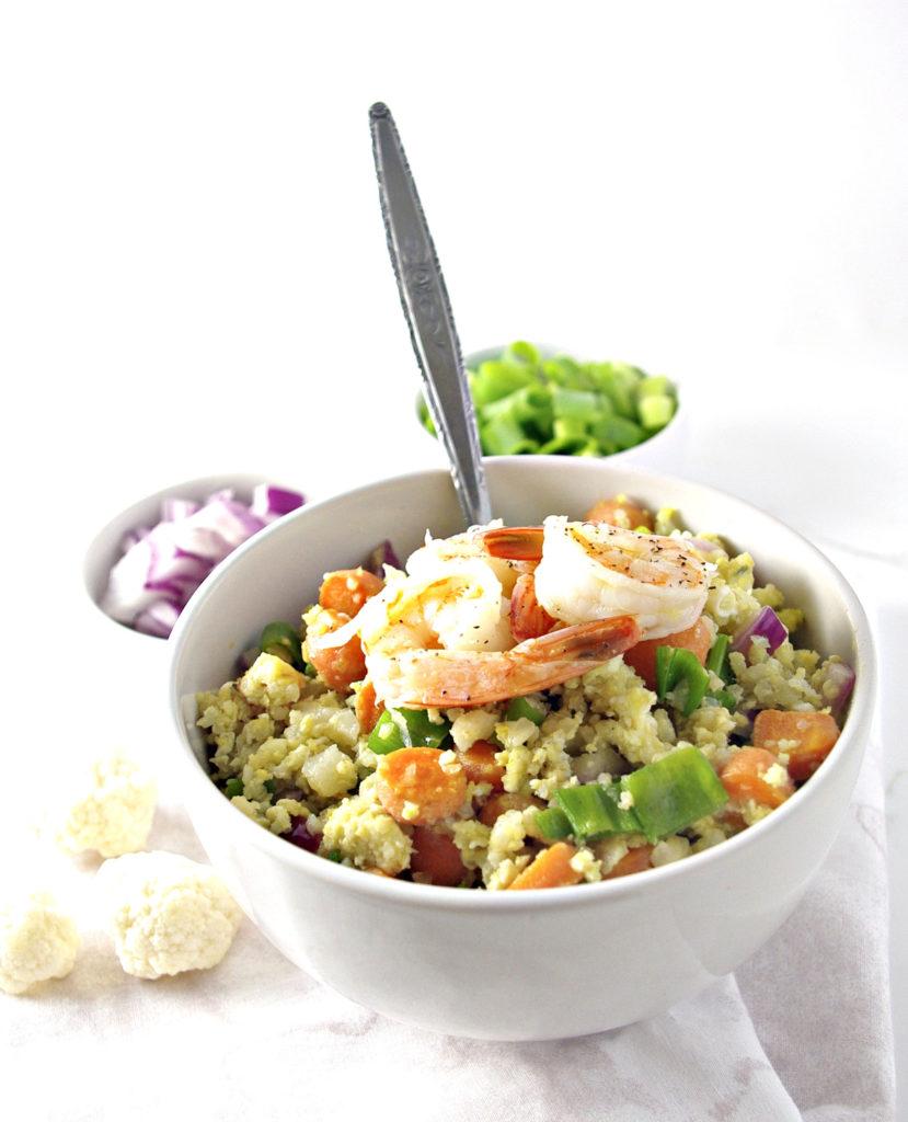 Soy-Free Cauliflower Stir Fry | via spiritedandthensome.com | #glutenfree #soyfree #grainfree #cauliflower #stirfry #dinner #recipe