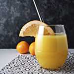 Back-to-School Orange Grapefruit juice is thirst-quenching! | spiritedandthensome.com