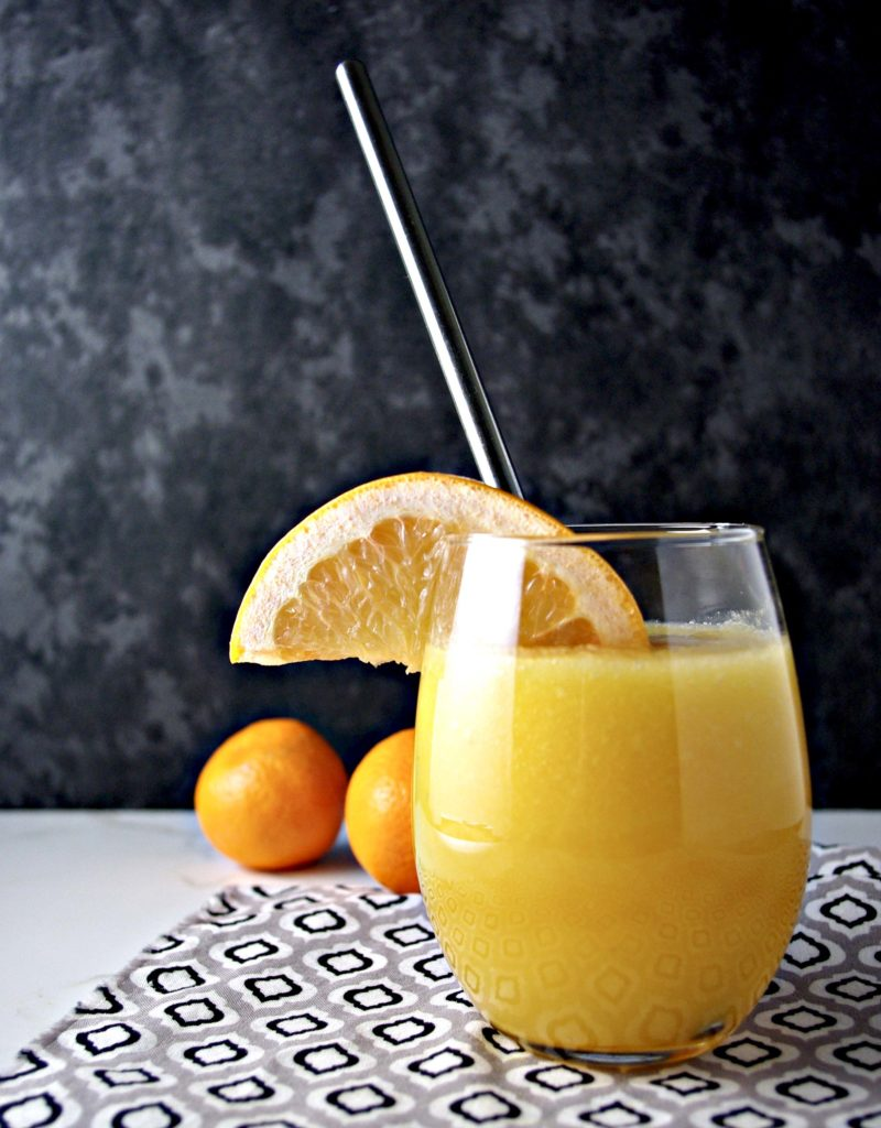 Back-to-School Orange Grapefruit Juice is mouthwatering and ready in minutes! | spiritedandthensome.com