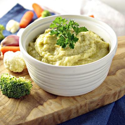 Dairy-Free, Soy-Free Garlic Hummus Dip