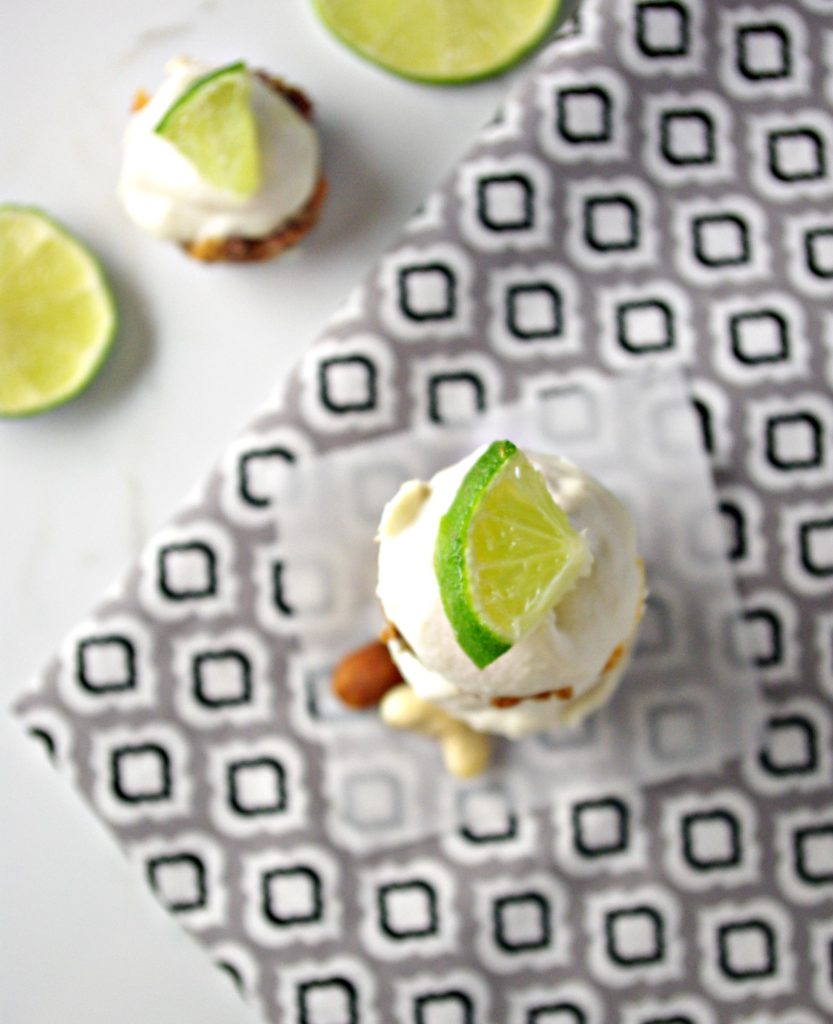 Key Lime Cheesecakes are a Delicious Gluten-Free, Dairy-Free Dessert | via spriritedandthensome.com | #glutenfree #soyfree #dairyfree #vegan #paleo #healthy #recipe #dessert
