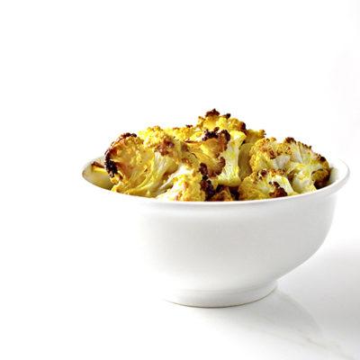 Crispy-Baked Cauliflower Bites