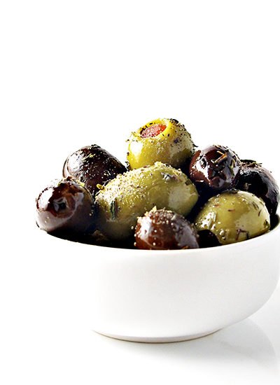 Marinated Greek Olives
