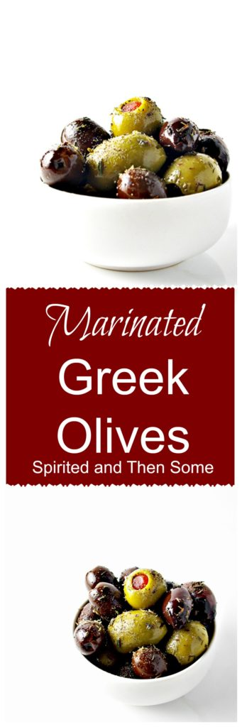 Paleo + Vegan Marinated Olives | via spiritedandthensome.com