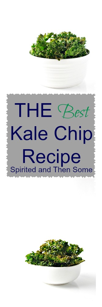The Best Kale Chip Recipe {Paleo + Vegan} | via spiritedandthensome.com | #glutenfree #grainfree #paleo #vegan #snack #appetizer #recipe #kale