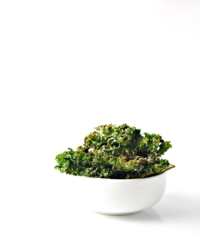 The Perfect Crispy kale Chip Recipe works like a charm every time! Tips included! | spiritedandthensome.com