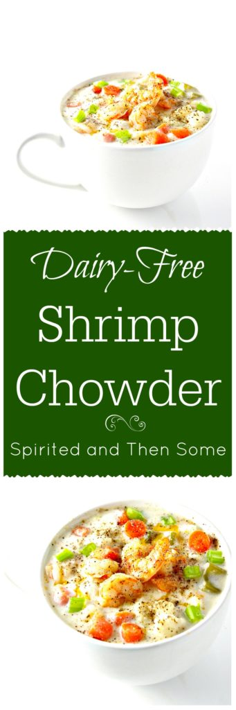 Dairy-Free Shrimp Chowder {paleo} via spiritedandthensome.com