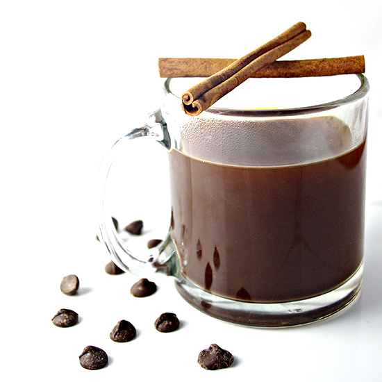 World's Best Chocolate Coffee - just two base ingredients, lots of options, and a decadent, chocolatey taste to start your morning off right! | spiritedandthensome.com