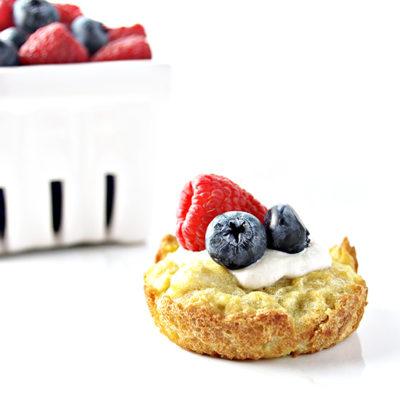 Paleo Vanilla Muffins