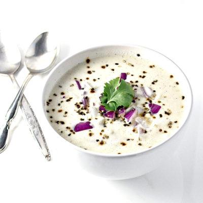 Dairy-Free Creamy Garlic and Onion Soup
