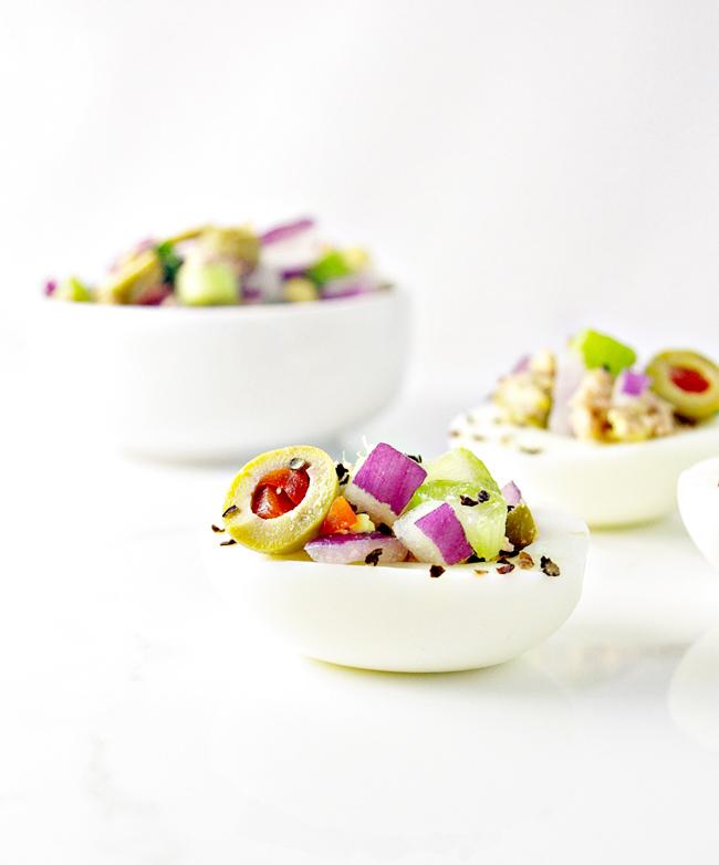 Paleo Tuna Salad-Stuffed Eggs Recipe