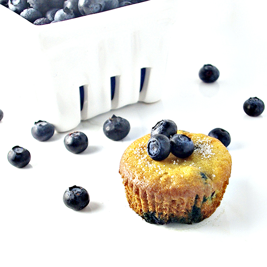 Paleo Blueberry Muffins are deliciously easy to make! | spiritedandthensome.com