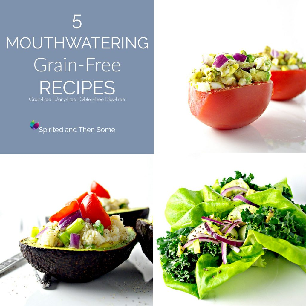 5 Mouthwatering Grain-Free Recipes that are PALEO and YUMMO! | spiritedandthensome.com
