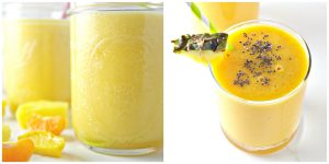 Older iterations of Pineapple Mango Smoothie! | spiritedandthensome.com
