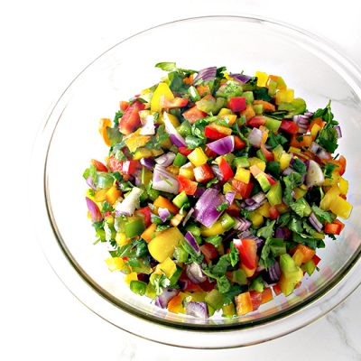 Hot 'n Spicy Pico de Gallo