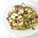 Loaded Apple Breakfast Nachos are deliciously paleo and vegan! | spiritedandthensome.com