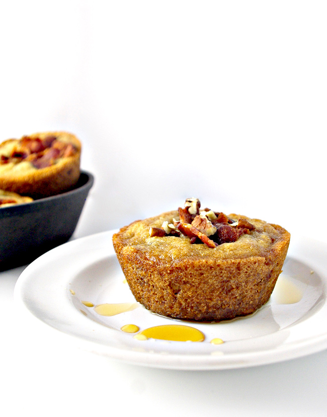 Texas-Style Maple Bacon Muffins are paleo-friendly and totally YUM! It's our go-to muffin!   spiritedandthensome.com