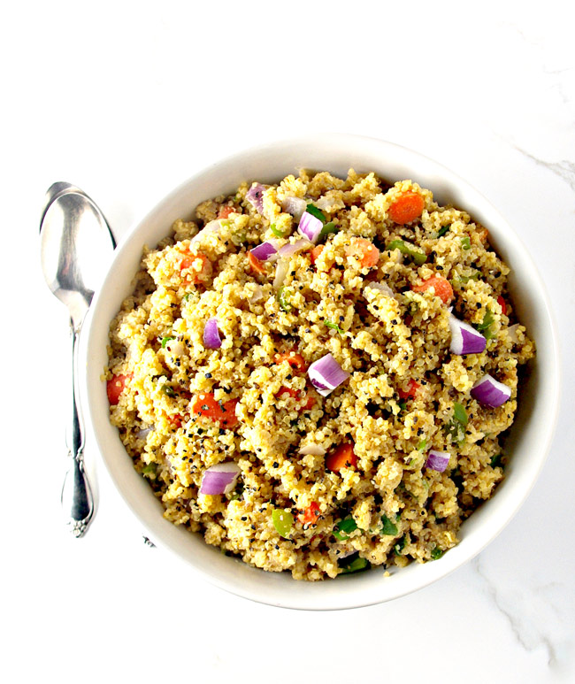 Veggie Quinoa Stir-Fry is vegan, gluten-free, and soy-free, too! | spiritedandthensome.com