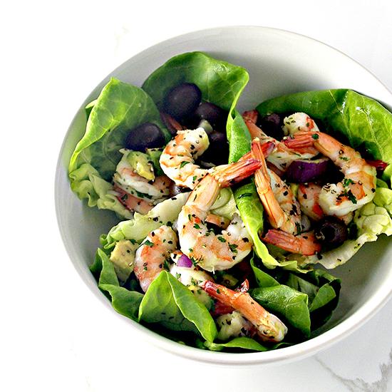 Spicy Shrimp Seashell Tacos are paleo and super delicious! | spiritedandthensome.com