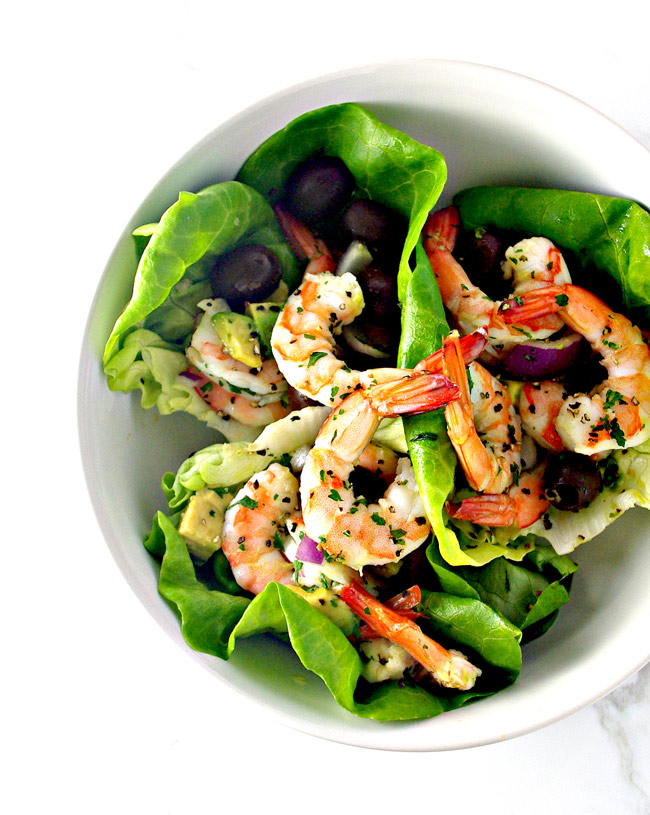 Spicy Shrimp Seashell Tacos are deliciously summer and totally paleo!   spiritedandthensome.com