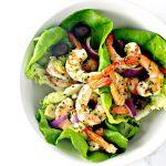 Spicy Shrimp Seashell Tacos are deliciously paleo! | spiritedandthensome.com