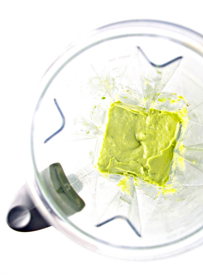 If you have a blender, then you can make Creamy Avocado Lime Spread! | spiritedandthensome.com