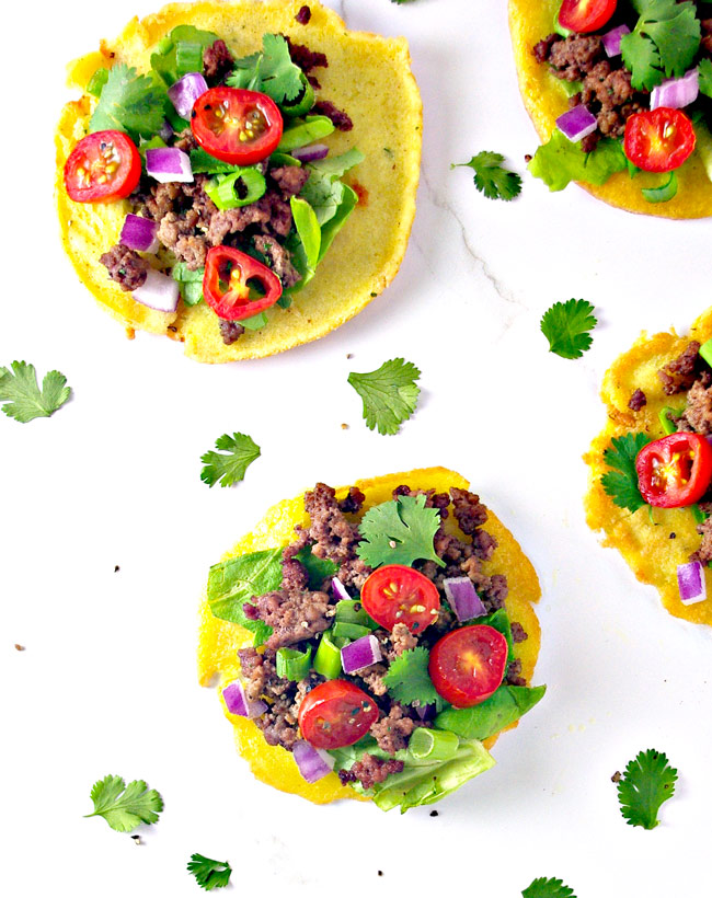 Crispy and crunchy or soft and chewy, these Homemade Mini Paleo Tortillas are DIVINE! A family favorite! | spiritedandthensome.com