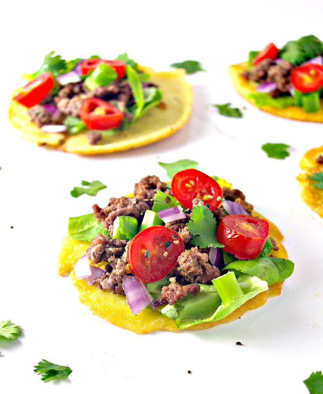 Healthy AND tasty, these Homemade Mini Paleo Tortillas contain just 6 base ingredients! | spiritedandthensome.com