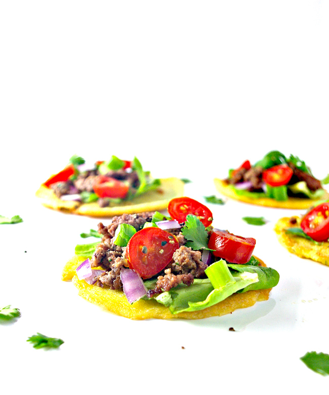 With just 6 base ingredients, these Homemade Mini Paleo Tortillas are super easy to make! | spiritedandthensome.com