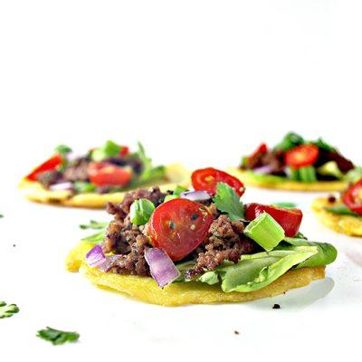 Homemade Mini Paleo Tortillas