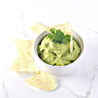 Creamy Avocado Lime Spread