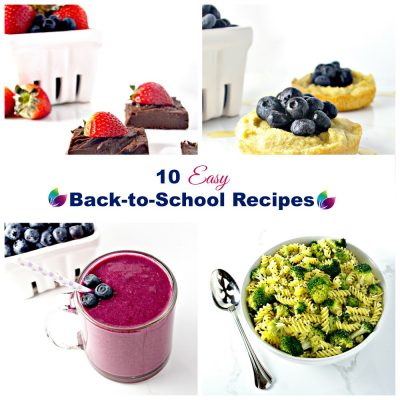 10 Easy Back-to-School Recipes