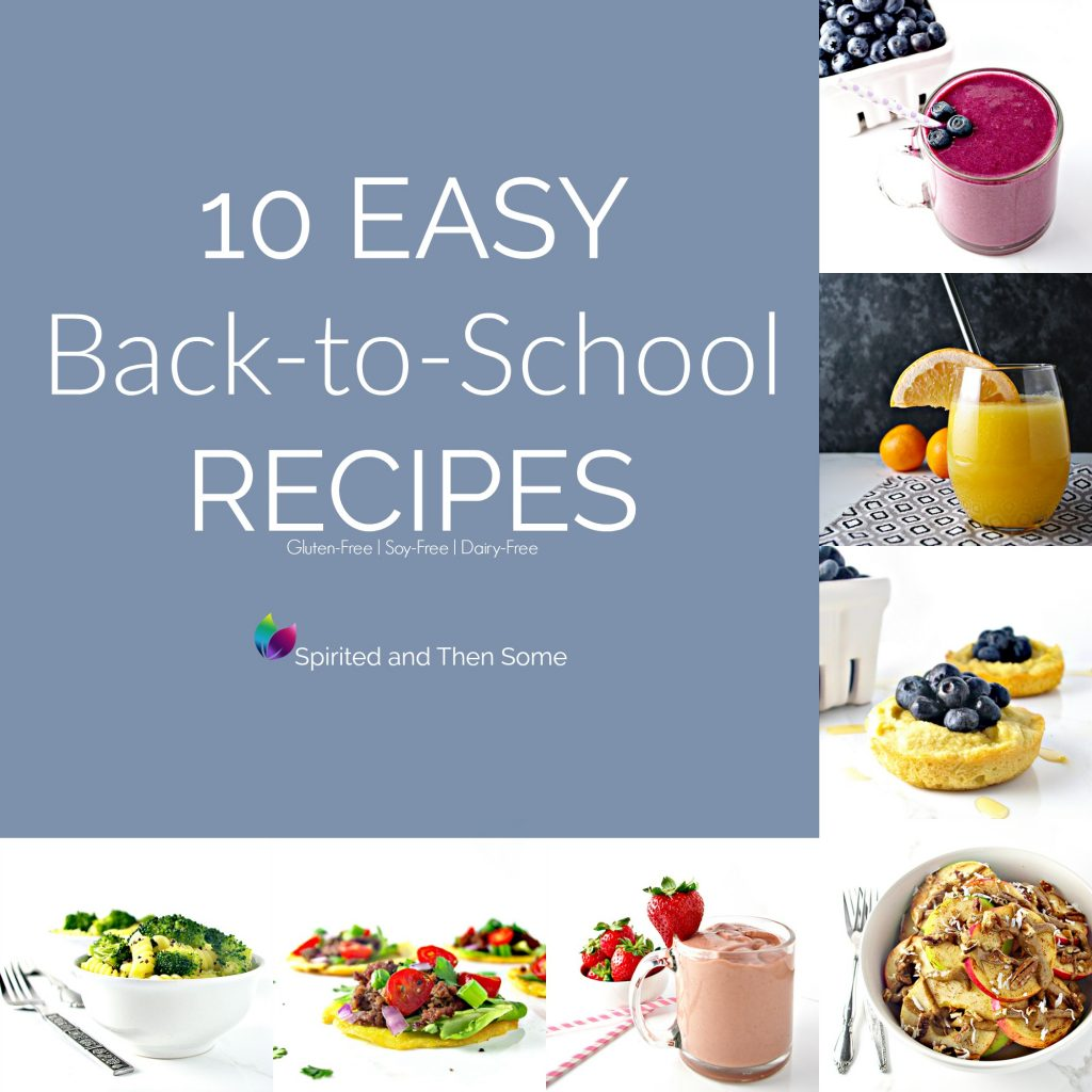 10 Easy Back-to-School Recipes that are tasty, healthy, and budget-friendly! Recipes the whole family will love! | spiritedandthensome.com
