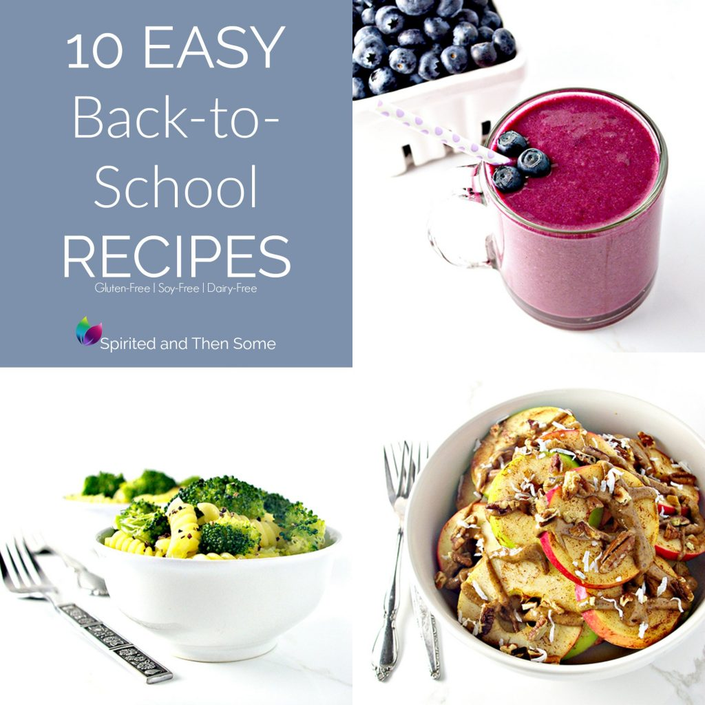10 Easy Back-to-School Recipes that are delicious, healthy, quick, and budget-friendly! | spiritedandthensome.com
