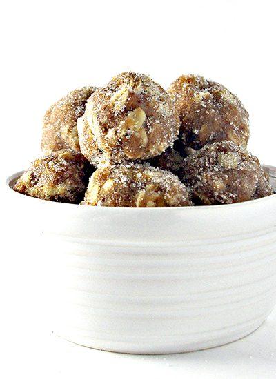 Gluten-Free Almond Butter Oatmeal Bites