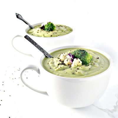 Dairy-Free Homemade Creamy Vegetable Soup