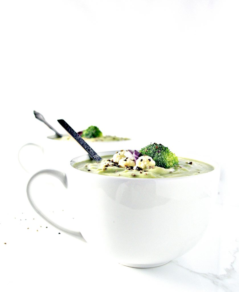 Dairy-Free Homemade Creamy Vegetable Soup is gluten-free, vegan, and paleo! | spiritedandthensome.com