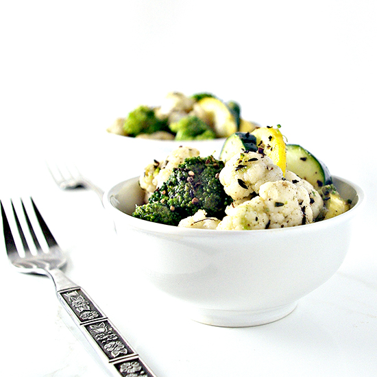 Easy Paleo Quick-Steamed Vegetables