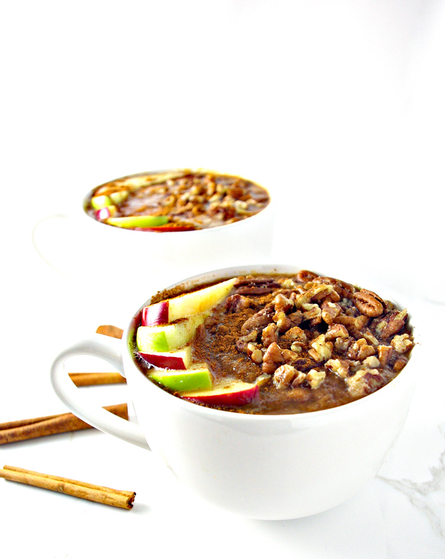 Kiwi Apple Cider is the perfect paleo or vegan comfort food recipe in the cold fall and winter months! | spiritedandthensome.com