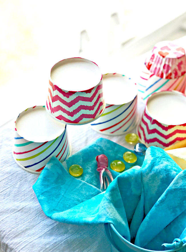 Treat cups are great for STEM sensory activities for children of all ages! | spiritedandthensome.com