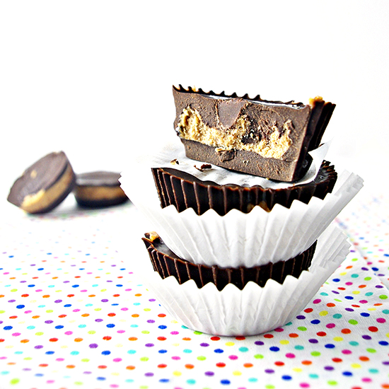 Chocolate Almond Butter Cups are dairy-free and gluten-free!   spiritedandthensome.com