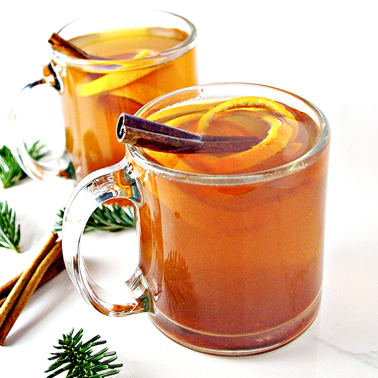 Cinnamon Orange Tea is comforting, full of spices and citrus, and gluten-free! Plus, it's single-serving, too!   spiritedandthensome.com